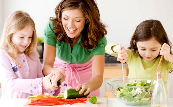 Изграждане на хранителни навици у децата
