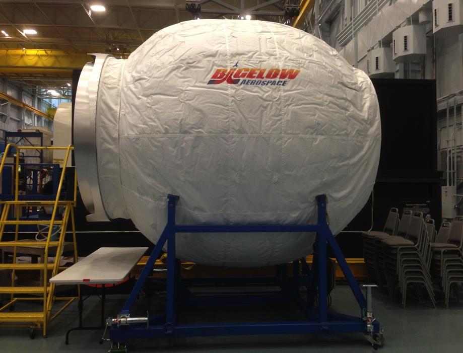 Надуваем модул за космическа станция на наса